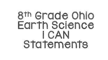 Ohio's 8th Grade Earth Science Standard (Content Statement 4)