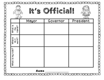 Ohio's Elected Officials for Kids