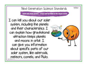 "Ohio's Learning Standards for Science - Fifth Grade ""I Can"" Posters"