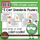 "Ohio's Learning Standards for Science - Fifth Grade ""I Can"