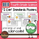 "Ohio's Learning Standards for Science - Fourth Grade ""I Ca"