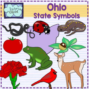 Ohio State Symbols Clipart By Teachers Clipart Tpt