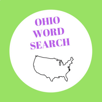 Ohio word search
