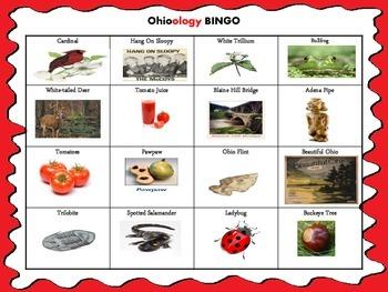 Ohio Symbols BINGO
