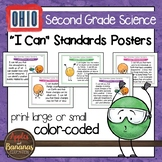 "Ohio's Learning Standards for Science - Second Grade ""I Can"" Posters"