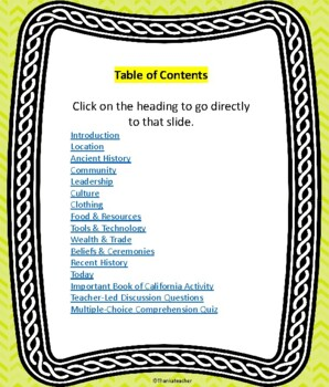 Ohlone Tribe: California Native American Series