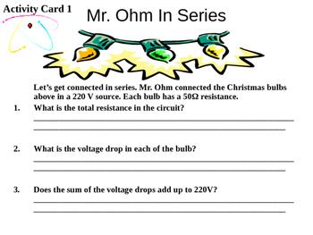 Ohm's Law Activity