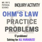 Ohm's Law Practice Problems