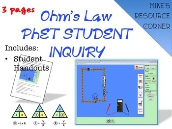 Ohm's Law Student Inquiry