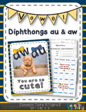 Au & Aw Vowel Diphthongs