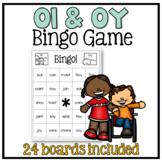 Oi and Oy Bingo