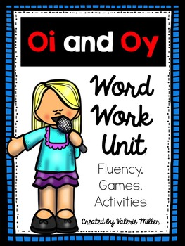 Oi and Oy Word Work- Differentiated
