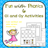 Oi and Oy Worksheets - Fun with Phonics!