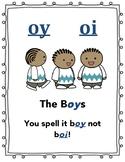 Oi & oy poster