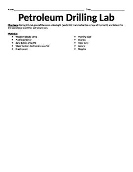 Oil Drilling Lab
