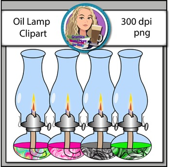 Oil Lamps Clipart
