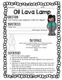 Oil Lava Lamp Experiment