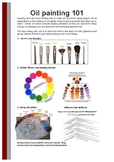 Oil Painting 101 fact sheet
