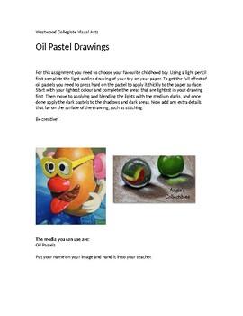 Oil Pastel Drawings
