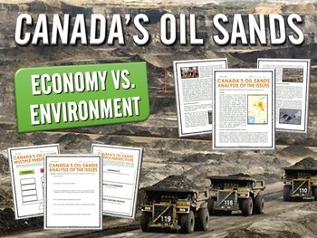 Oil Sands in Alberta, Canada - Bundle - Reading, Questions