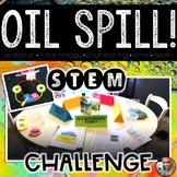 Earth Day STEM Challenge - Oil Spill STEM