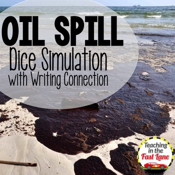 Oil Spill Dice Simulation with Writing Connection