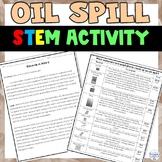 Oil Spill Inquiry STEM Activity