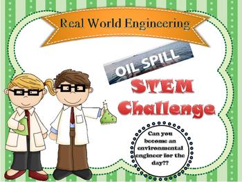 Oil Spill STEM challenge