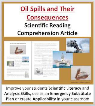 Oil Spills and Their Consequences - Science Reading Articl