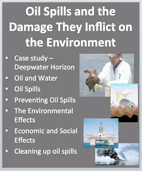 Oil Spills and the Damage They Inflict - PowerPoint Inquir