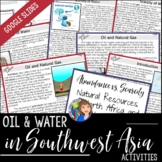 Oil and Water in SW Asia and North Africa Activity with Go