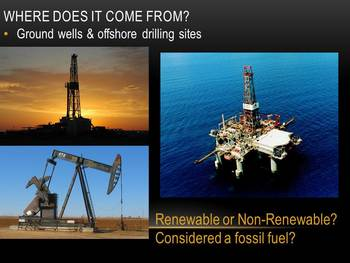 Oil in the Middle East and Dubai PowerPoint