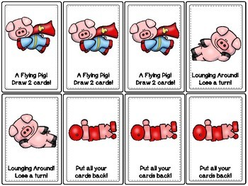 Oink!  An -oi & -oy Vowel Diphthong Game