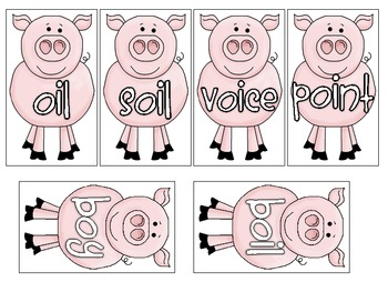 Oink Oink - oi/oy Vowel Diphthongs