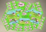 Oink! - Short Vowel Word Card Games