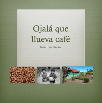 Ojalá que Llueva Café Vocabulary Powerpoint