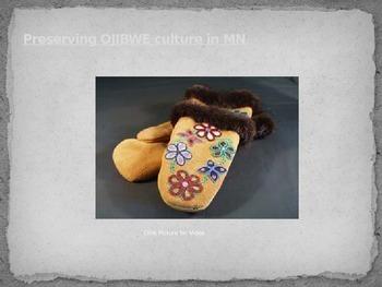 Ojibwe Beadwork Powerpoint Presentation