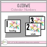 Ojibwe Calendar Numbers