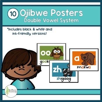 Ojibwe Vowel Posters