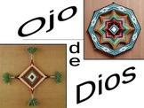 Ojo de Dios (God's Eye) - Spanish Cultural Project