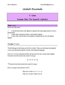 Ojos Abiertos:  A Beginners self-study guide for learning Spanish