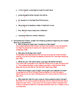 Okay for Now (by Gary D. Schmidt) Chapter 7 Resources