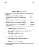 Okay for Now (by Gary D. Schmidt) Chapter 9 Resources