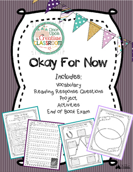 Okay for Now by Gary Schmidt Literature Unit
