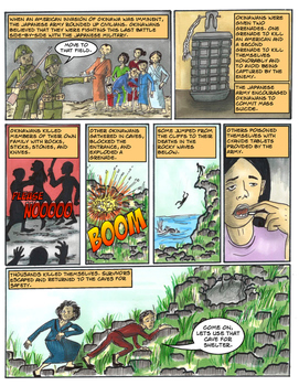 Okinawa: The Civilian Experience: Graphic Novel/Comic WWII