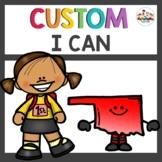 Custom Oklahoma 1st Grade I Can Statements