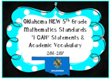 Oklahoma 5th Grade MATH Standards **I CAN Statements & Aca