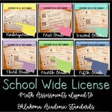 Oklahoma Academic Math Standards Assessments -School Licence