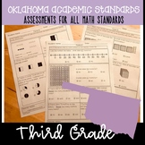Oklahoma Academic Math Standards- Assessments for ALL Third Grade Standards