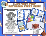 Oklahoma Academic Standards (Aligned) Math Test Prep Study Guide (Sports Themed)